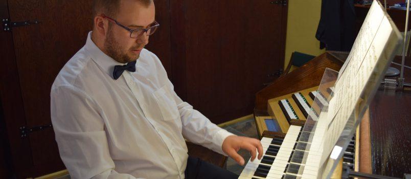 Muzyka okresu romantyzmu rozbrzmiała na kolegiackich organach