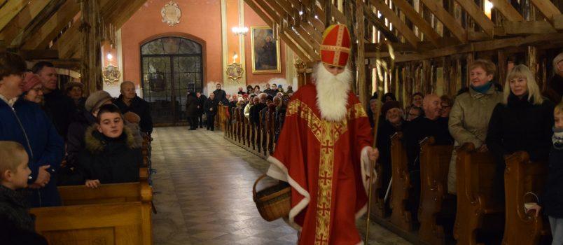 Wizyta św. Mikołaja w Kolegiacie